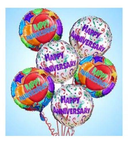 Anniversary Mylar Balloon Set