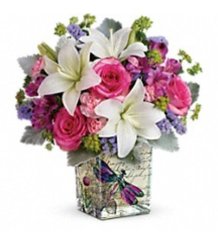 Teleflora's Garden Poetry Bouquets