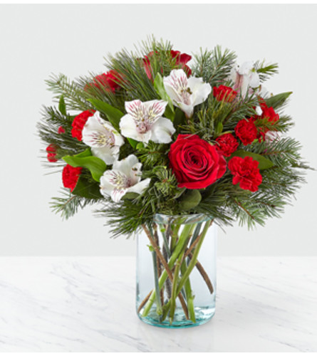 The Wonderful Holiday Cheer Bouquet FTD