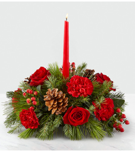 I'll Be Home for Christmas Centerpiece FTD