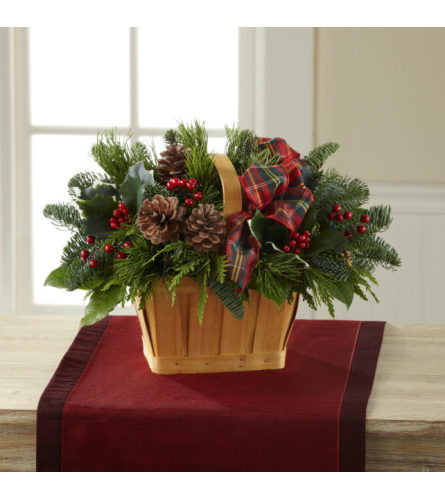 The Christmas Coziness Basket FTD