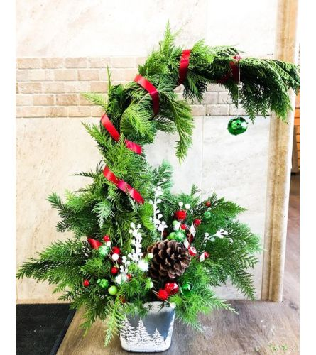 Grinchy Christmas by Rustic Floral