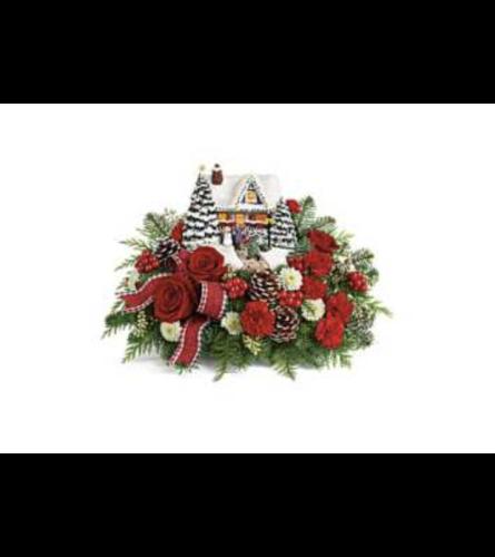 Hero's Welcome Bouquet a Thomas Kinkade Flower Arrangement
