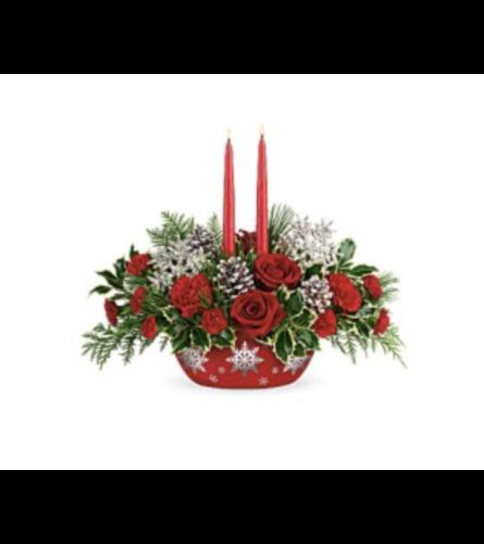 Centerpiece Bouquet Winter's Eve