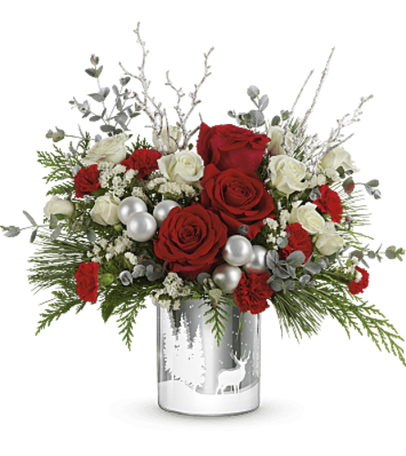 Teleflora's Silver Wintry Wishes