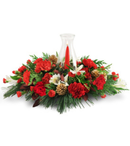 Warm glowing centerpiece