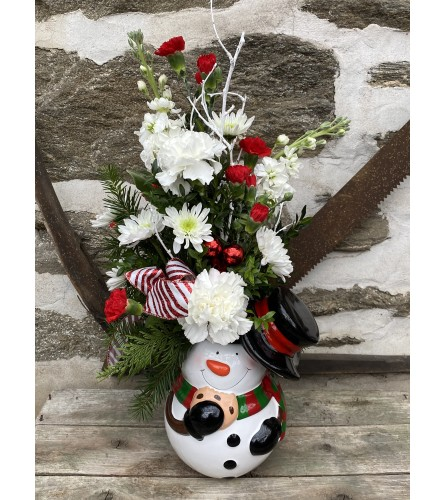 Frosty Cookie Jar Bouquet by Rothe's