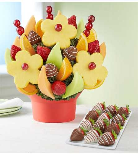 Flower Power Fruit Bouquet