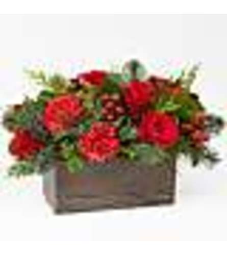 FTD's Christmas Cabin Bouquets