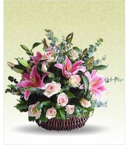 Spring Elegance Basket