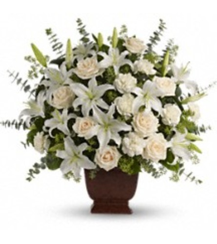 Teleflora's Loving Lilies and Roses Bouquets