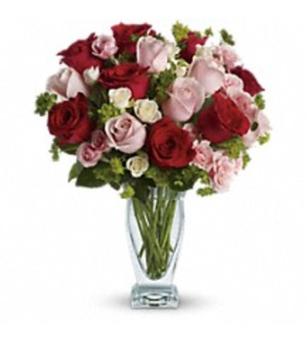 Cupid's Creation with Red Roses by Teleflora T6-1