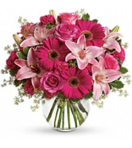 A Little Pink Me Up Bouquet