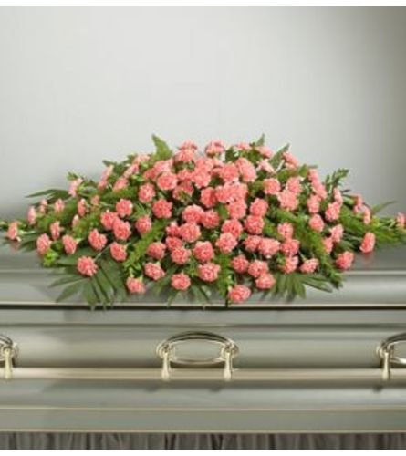 Pink Perfection Casket Spray