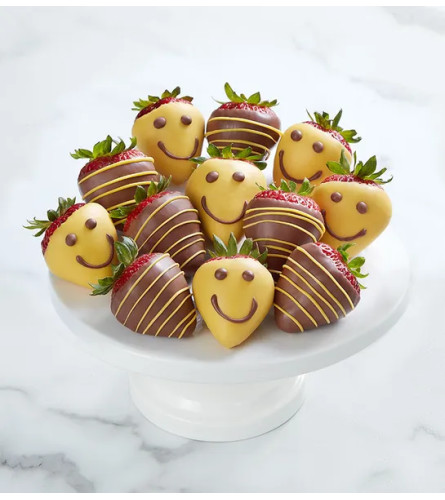 Strawberry Smiles™ Dipped Chocolate Strawberries