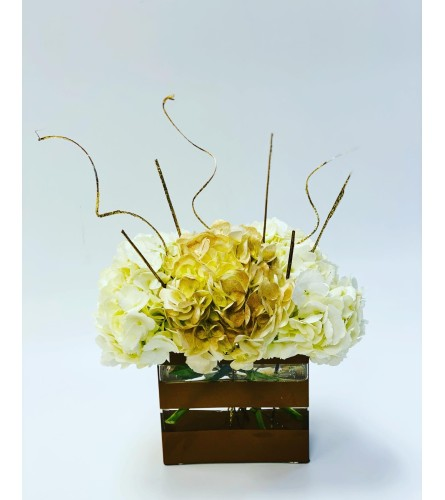Luxury Gold Hydrangea