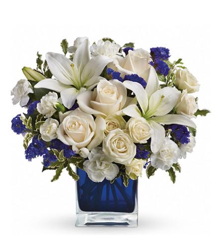 Sapphire Blue Skies Bouquet