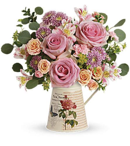 Vintage delicate bouquet