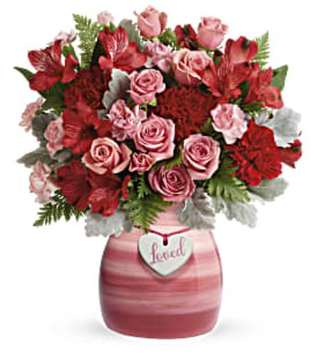 Playful Pinks Vased Bouquet
