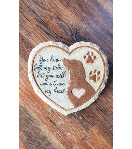 Heart Stone for Dog
