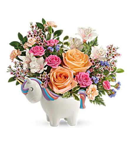 Garden Unicorn bouquet