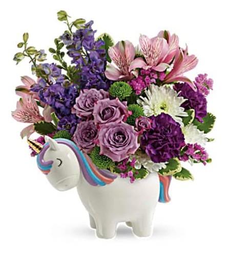 Unicorn magical mood bouquet