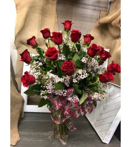 2 Dozen, 3 Dozen or 4 Dozen Red Roses