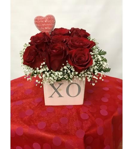 XO VALENTINES ROSES