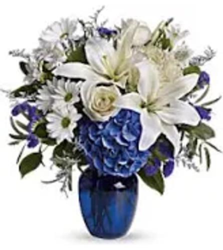 Blue & Beautiful Bouquet