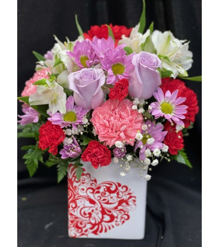 MY HEART IS YOURS BOUQUET