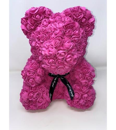 """Rose Bear 16"""" Pink"""