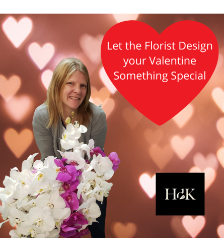 Heather will design for your valentine!