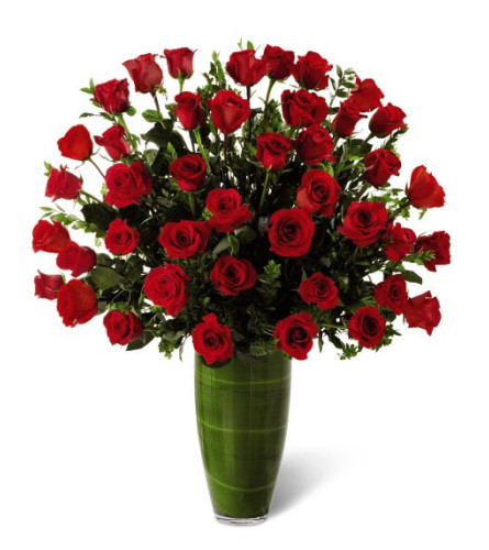 The Show Stopper - 50 Red Roses