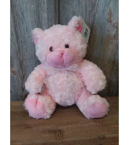 Plush Pink Bear