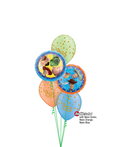 Toy Story Classic Confetti Balloon Bouquet
