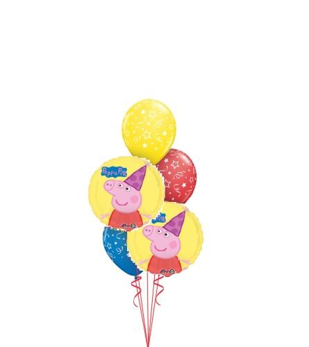 Peppa Pig Classic Balloon Bouquet