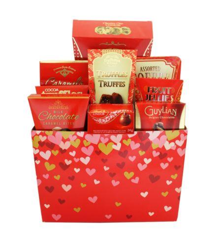 Valentine's Delight Gift Basket