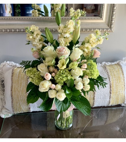 Simply Beautiful Sympathy Vase Arrangement
