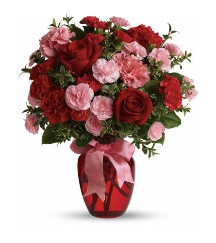 Dancing Flowers Vase Arrangement