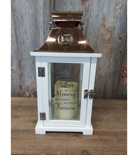 Lantern Copper (small) 'When Someone You Love'
