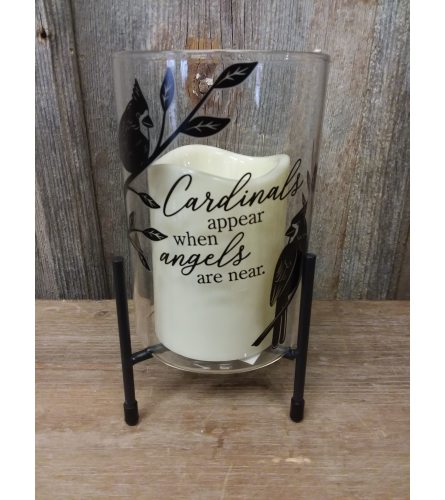 Candle Stand 'Cardinals'