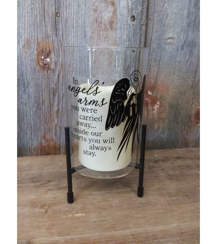 Candle Stand 'Angel's Arms'