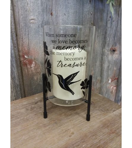 Candle Stand 'Hummingbird'