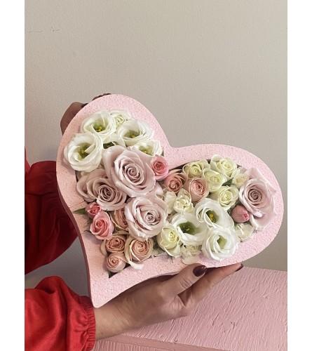 Pink Valentines Heart
