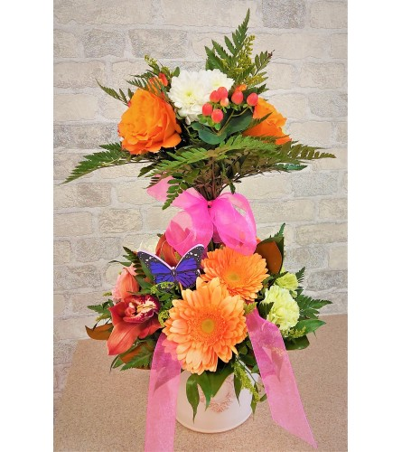 Topiary for Mother and Daughter by O'Flowers