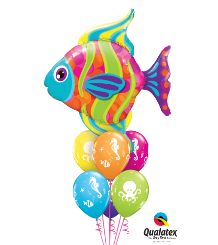 Fantastic Fish Awesome Balloon Bouquet