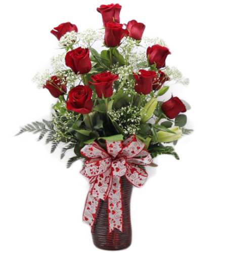 Doz Red Roses