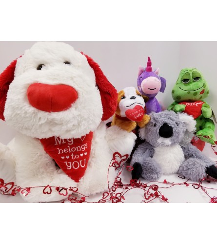 Valentine's Plush Assorted