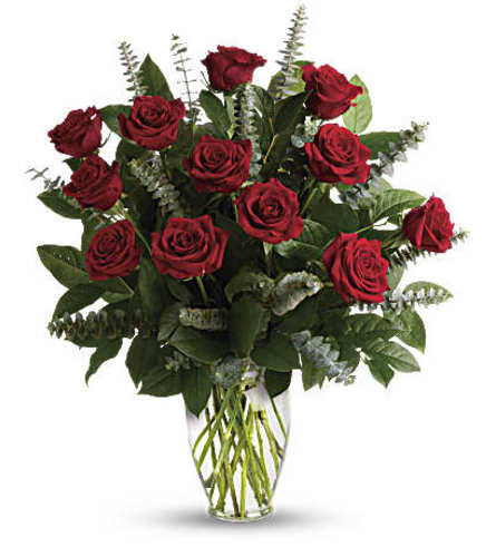 Love Eternal Red Rose Dozen