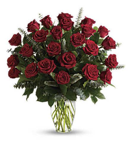 Love Eternal (Two Dozen) Red Rose Arrangement